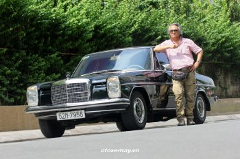 Mercedes-Benz W115 vẫn sống động tại Sài Gòn sau nửa thế kỷ