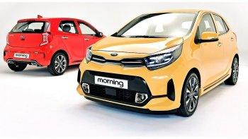 Kia Morning 2021 ra mắt với những thay đổi ấn tượng