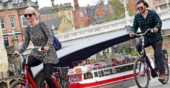 Anh sắp có thành phố chỉ sử dụng xe đạp và xe điện