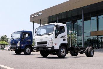 Xe tải Hyundai Mighty EX8 GT có giá từ 695 triệu đồng