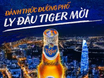 Tiger Beer miễn phí sẽ thu hút 1,5 triệu người trẻ đến quán quen để thưởng thức