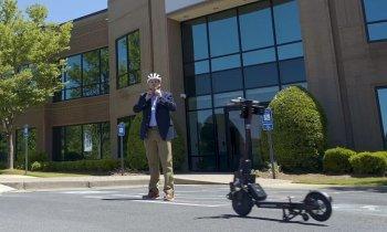 Mỹ thử nghiệm scooter tự lái đầu tiên trên thế giới