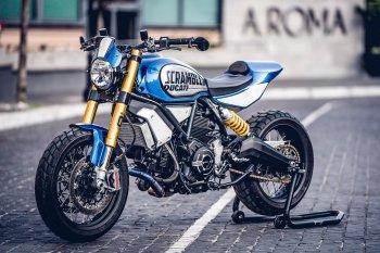 Ấn tượng Ducati Scrambler 1100 FT vô địch giải độ xe toàn cầu