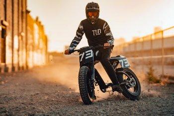 Super73 Flat Track RX: Chiếc xe đạp lai đầy táo bạo