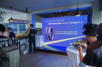 Michelin trình làng lốp Pilot Street 2 tại Việt Nam