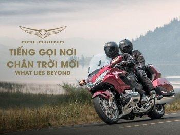 """""""Ông vua đường trường"""" Honda Golwing 2020 ra mắt tại Việt Nam"""