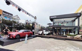 Vietnam Star mời khách xem xe tại Mercedes-Benz Pop-up Showroom kiểu mới