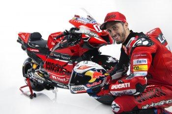 """""""Á quân"""" MotoGP 2019- Andrea Dovizioso bị gãy xương đòn trước thềm mùa giải mới"""
