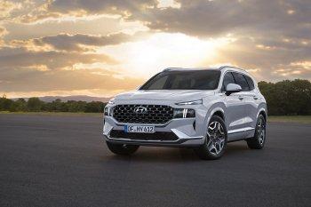 Hyundai Santafe 2021 chính thức ra mắt khiến các đối thủ phải dè chừng