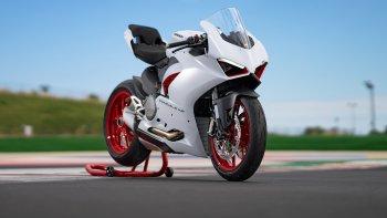 Ducati Panigale V2 có thêm tùy chọn màu sắc White Rosso