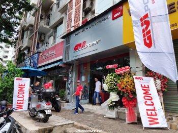 Cửa hàng phụ kiện môtô, xe máy Givi Point Quận 7 chính thức mở cửa