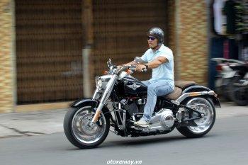 Harley-Davidson Fat Boy: Gã Béo di động mê hoặc trên phố Sài Gòn
