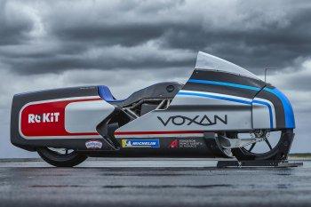 Voxan Wattman: Siêu môtô sẵn sàng phá vỡ kỷ lục tốc độ của thế giới xe điện