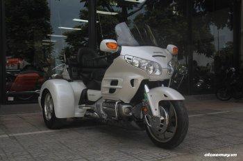 """""""Siêu phẩm"""" Honda Goldwing nâng cấp bản độ ba bánh hiếm hoi tại Việt Nam"""
