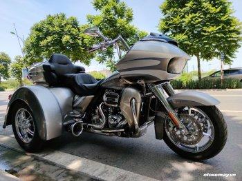"""""""Khủng long chúa"""" Harley Davidson Road Glide độ 3 bánh độc nhất Việt Nam"""