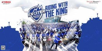 """Yamaha khởi động chiến dịch """"Riding with the King"""" cùng nhiều sự kiện ý nghĩa"""