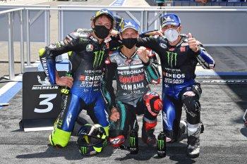 Tài năng trẻ Fabio Quatararo tiếp tục thể hiện phong độ chói sáng tại chặng 2 MotoGP 2020, Valentino Rossi trở lại bục Podium