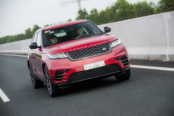 Range Rover Velar – thiết kế bắt mắt, cảm giác lái êm ái