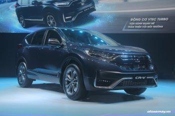 Chi tiết Honda CR-V 2020 vừa chính thức ra mắt tại Việt Nam