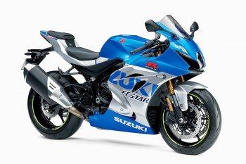 Siêu mô tô Suzuki GSX-R1000R 2021 thêm màu mới kỷ niệm 100 năm