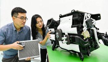 Hyundai phát triển hệ thống máy lạnh xe hơi thế hệ mới