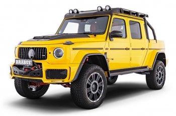 """Siêu xe bán tải """"hàng thửa"""" Brabus 700 Adventure XLP, giá tương đương 10,5 tỷ đồng"""