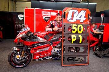 Andrea Dovizioso tuyên bố chia tay Ducati sau mùa giải MotoGP 2020