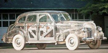 """Chi tiết Pontiac Ghost Car: """"Xe ma"""" huyền thoại với thiết kế trong suốt"""