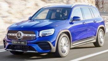 Cận cảnh SUV Mercedes-Benz GLB 200 AMG 2020 vừa ra mắt giá 1,999 tỷ đồng