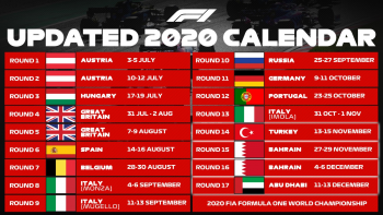 Người hâm mộ Việt Nam có thể tiếp tục lỡ hẹn mùa giải F1 2020