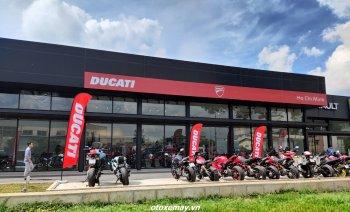 Showroom Ducati Ho Chi Minh của nhà phân phối mới chính thức đi vào hoạt động