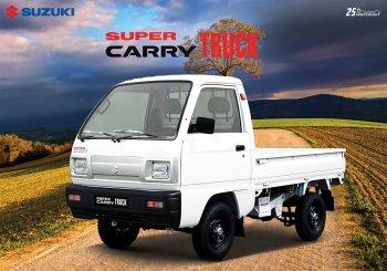 Lựa chọn đầu tư khôn ngoan với xe tải nhẹ Suzuki động cơ F10 chính hãng