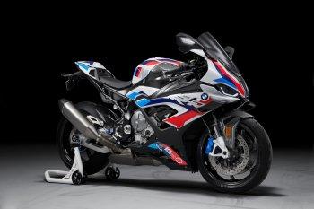 Siêu môtô BMW M1000RR công suất 212 mã lực ra mắt
