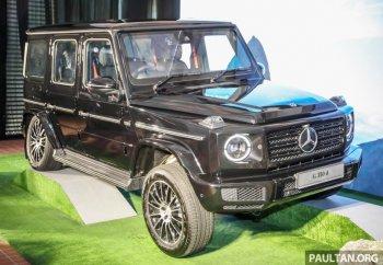 """""""Vua địa hình"""" Mercedes-Benz G350d 2020 lên kệ tại Malaysia, hẹn ngày về Việt Nam"""