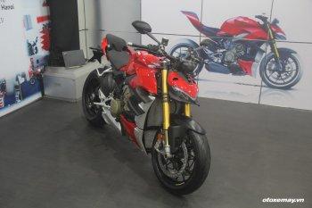 Chi tiết bộ đôi Ducati Streetfighter V4 giá bán khởi điểm từ 650 triệu đồng