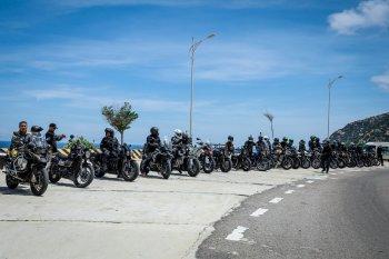 Rẽ sóng trùng khơi, vờn mây đại ngàn với biker Saigon Triumph Riders