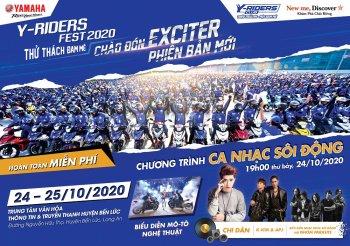 Y-Riders Fest - Sự kiện lớn nhất trong năm dành cho tín đồ yêu tốc độ của Yamaha