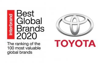Toyota: thương hiệu ôtô đắt giá nhất thế giới 2020