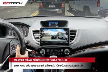 Lái xe an toàn hơn với màn hình ôtô thông minh GOTECH tích hợp 4 camera