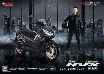 Yamaha Motor Việt Nam ra mắt NVX 155 VVA hoàn toàn mới giá 53 triệu đồng