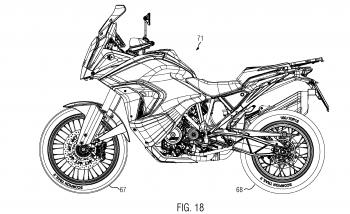 Rò rỉ thiết kế KTM 1290 Super Adventurev thế hệ 2021
