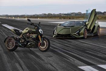 Ducati Diavel 1260 Lamborghini – Siêu bò trên 2 bánh xe
