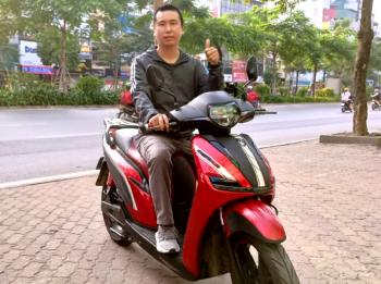 Biker xuyên Việt bằng xe máy điện