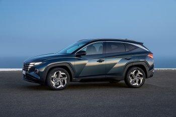 """Hyundai Tucson 2021 biến đổi nội ngoại thất mang tính """"cách mạng"""""""