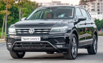 SUV Volkswagen Tiguan Allspace 2021 giá từ 1,699 tỷ đồng có những gì?