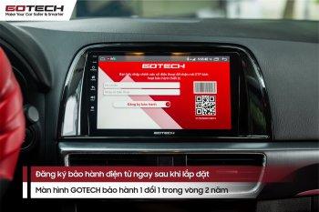 5 việc cần làm ngay khi lắp đặt xong màn hình ôtô thông minh GOTECH