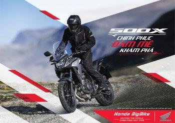 """Loạt môtô """"hàng hot"""" CB650R, CB500X, Rebel 500 phiên bản 2021 ra mắt trước Tết"""