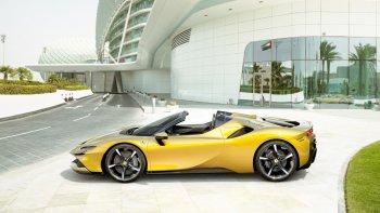 Khám phá bí mật SF90 Spider 2020: Mẫu xe mui trần plug-in hybrid thương mại đầu tiên của Ferrari
