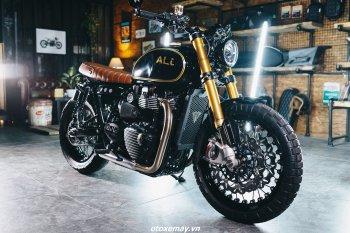 Dân chơi xe Việt độ môtô Anh Quốc kiểu mới 2021