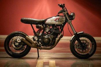 Chiêm ngưỡng bản độ không giới hạn Yamaha XT 630 Supermoto